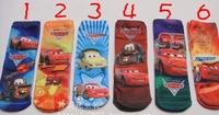 Free shipping!Children's Cars2 Mickey Dora Toy Story cartoon socks Thomas boys and girls bottoming socks kids socks