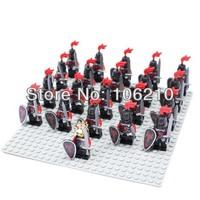 21pcs Dragon Knight Minifigure compatible with lego Building Block doll,Loose Brick accessory WOMA Sluban Decool mini figures