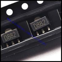 NEW 2SD882 D882 transistor SOT-89 3A 30V SMD transistor 20PCS