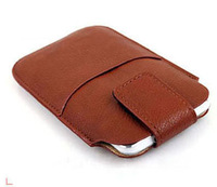Leather Phone Pouch Bags Cases for HTC One M7 Dual Sim Cover Accessories Phone Bag Case