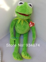 TY Frog Pluh Toys 44cm Baby Birthday Party Gift Toys 1pcs Free Shipping
