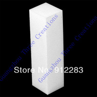 Free Shipping 100pcs White Sponge Nail Buffer Block, Fashion Nail Buffers