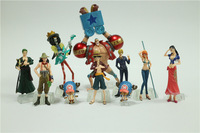 Collection Super Modeling Soul One Piece The New World  Fishman Island Figure Set x 10 Kids Christmas Birthday Gift