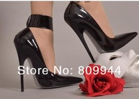 M / 13CM pointed pumps SM Queen Tuning European and American high-heeled foot fetish orders Albums (54)