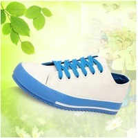 2014 spring canvas shoes   women shoes female sneakers flat shoes low platform