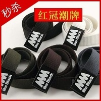 Free ShippingCanvas strap male belt all-match outdoor casual male strap canvas belt lengthen 1327