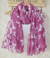 Scarfs fashion style designer 2014,Free shipping,long Women shawl,Butterfly print,Viscose hijab,women scarf,muslim hijab,shawls