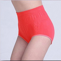 Panties female cotton 100% cotton high waist beauty care panties  free shipping