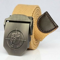 Free ShippingCanvas strap male belt all-match outdoor casual male strap canvas belt lengthen 1582