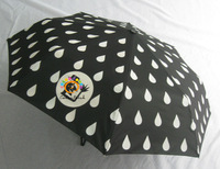 6399,New&Bravo!Color Changing Umbrella,Peacock Spots,Nobleman's Hat,Full Automatical,Italy Design,8K,3-fold,Foreign Order Stock
