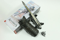 Collection Ubisoft Assassin's Creed Hidden Blade Brotherhood Ezio Auditore Gauntlet Cosplay replica Christmas Birthday Gift