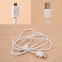 Micro USB Sync Data Charger Cable For Samsung Galaxy S4 White Free Shipping