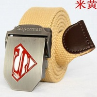 Free ShippingCanvas strap male belt all-match outdoor casual male strap canvas belt lengthen  1568