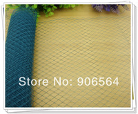 """Free shipping 10""""/25 cm peacock veils/ birdcage veils, for fascinators/bridal hair accessories /Millinery hats / 10yards/lot"""