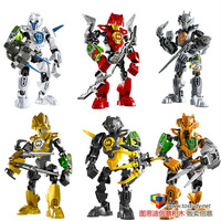 2014 NEW diy building block toy building Hero Factory 3.0 Compatible With Lego Assembles fight inserted toys Christmas gift