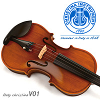 V01 genuine antique handmade violin  Grading beginners  Adult children of high-grade wood musical instruments