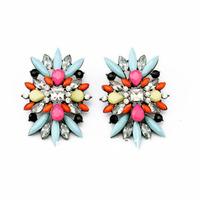 Black Shourouk Earrings 2014 New Jewerly Free Shipping