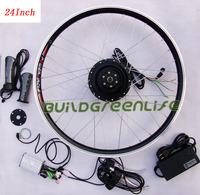 Electric bicycle 24inch 36V 250W  front wheel assemble e-bike conversion kits