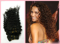 brazilian virgin hair deep wave one piece sample 100% human hair Beauty hair products Brazilian kinky curly virgin hair