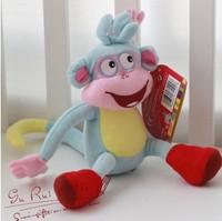 "New 2014 -10"" Dora the Explorer The Monkey Plush/Stuffed aniamls Dolls Soft baby/kidsToy adventure time toys brinquedos girls"