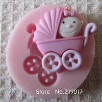 Free Shipping baby mold cake mold silicone baking tools kitchen accessories decorations for cakes Fondant LM14012