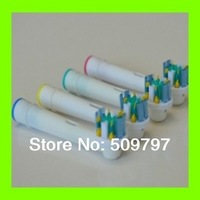 4pcs/pack Electric Toothbrush Heads  replacement B Oral Health Care Floss Action (4pcs / 1pack)