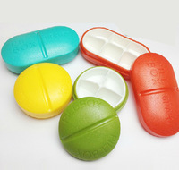 Compartment Travel Pill Box Organizer Tablet Medicine Storage Dispenser Holder