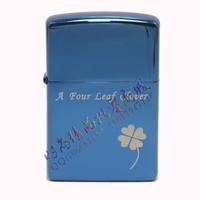 Hot-selling gift metal kerosene, grinding wheel lighter kerosene, machine lucky grass four leaf clover