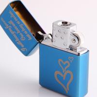 Birthday gift of boys lighter usb charge electronic cigarette lighter
