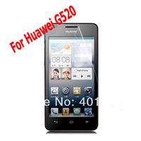 Clear Anti-scratch Screen Protector for Huawei G520 G525 Phone Screen Protective Film with Package