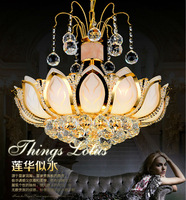 Traditional crystal chandeliers lighting Gold Palace light Luxury Hotel lamp for bedroom Guaranteed 100%Free shipping 9050-450