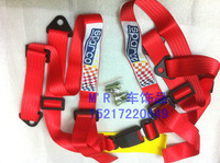 SPARCO blue black and red four-point seat belt harness belts ordinary 4:00 harness racing