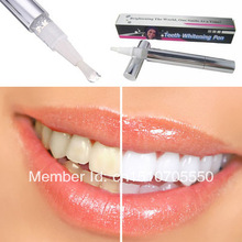 Brazil Free Shipping Popular White Teeth Whitening Pen Tooth Gel Whitener Bleach Remove Stains Mxmi