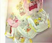 Baby 100% cotton panties Children briefs Breathable underwears Kid underpants Girl shorts 24 pieces/lot Wholesale Free shippping