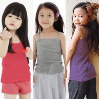 2014 summer candy all-match girls clothing baby child spaghetti strap vest tx-1045