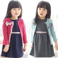 2014 spring elegant princess girls clothing baby child cardigan wt-0606