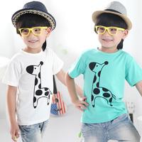 2014 summer onta boys clothing baby child vest short-sleeve T-shirt tx-1997