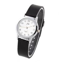 JW Unisex Sports Watch Steel Case Analog Fashion Casual Watches Rubber Strap Analog Quartz Simple Style