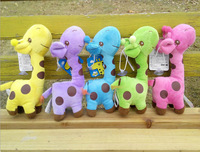 New 2014 Baby Toys 5Pcs/Lot Giraffe Doll Plush Toys Learning & Education Toys For Children Free Shipping