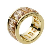 Wholesale,Free Shipping, Crystal Band Ring,Golden ring 100% authentic