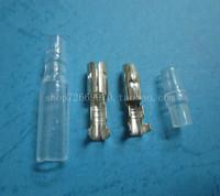 4.0 bullet terminal car electrical wire connector diameter 4mm pin set 100sets=400pcs
