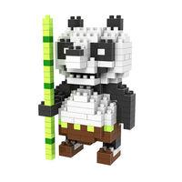 Po Panda LOZ Diamond Nano Mini Building Blocks Enlighten Bricks