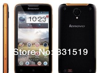 Original Lenovo S750 4.5'' IPS Quad Core Phone IP67 Waterproof 8MP Camera 1GB RAM 4GB ROM Android 4.2 GPS Russian Multi Language