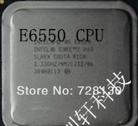 E6550 LGA 775 Core 2  cpu  Intel  processor Dual  2.33GHz,2M, 1pc  Free shipping