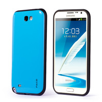 Luxury Hard Case for Samsung Galaxy Note2/n7100 Contrast Color Back Cover Free Shipping