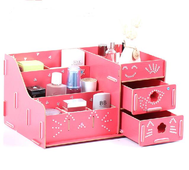 Creative Makeup Storage Diy Creative Makeup Desktop