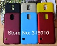 New Hybrid Snap on Rubber Coated Rubberized Hard Case CellPhone Cover Skin for Samsung Galaxy S5 I9600 100pcs/lot I9600C02