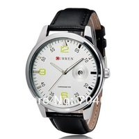 CURREN 8116 Men's Round Dial Analog Watch with Date Display sports watch