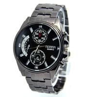 Wholesale men's wristwatches fashion quartz watch Stainless Steel strap watches men,SQW36