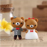 A Pair Wedding USB flash drive Lover pendrive 8GB 16GB 32GB  64GB USB disk Wedding usb flash memory stick Lovers pen drive